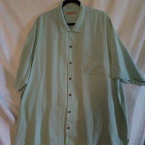 Tommy Bahama Men's 100% Silk Camp Shirt xxl